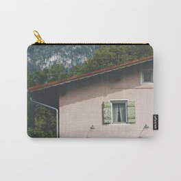 Pink Alpine House Carry-All Pouch