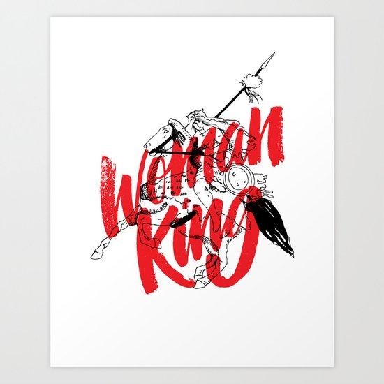 woman king Art Print