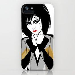 Siouxsie Sioux iPhone Case