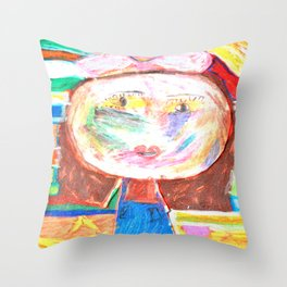 Mrs. GRUMBLiNG Throw Pillow