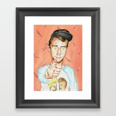 Get Fried Framed Art Print