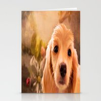 cookie Stationery Cards featuring Cookie.. by YvetteCheri-DigiArt