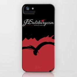 JB Salsbury Blood Heart iPhone Case