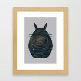 Space Toto-RO! Framed Art Print