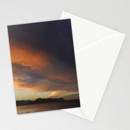 Sicilian sunset Stationery Cards