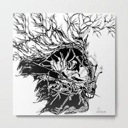 Deserted Heart Metal Print