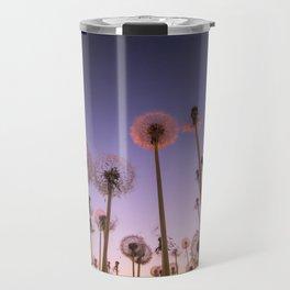 Dandelion field Travel Mug