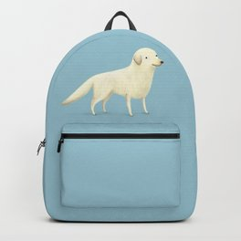 Golden Retriever Portrait Backpack