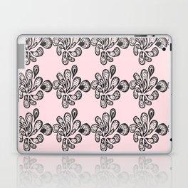 Soft pink ornament Laptop & iPad Skin