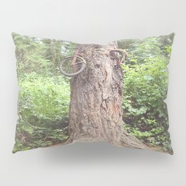 Bike Tree Pillow Sham