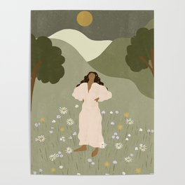 No Ceiling in the Garden Poster
