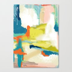 Deconstructed Landscape Two Canvas Print