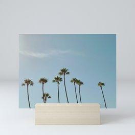 Scripps Seaside Palms Mini Art Print