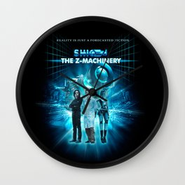 The Z-Machinery - Poster Wall Clock