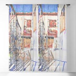 Borrello: terrace Sheer Curtain