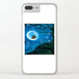 GHOSTS Clear iPhone Case