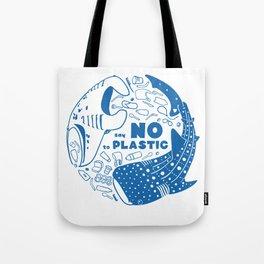 Say NO to Plastic Tote Bag