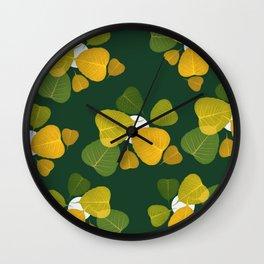 dead leaf club Wall Clock