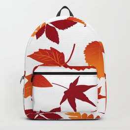 Fallen leaves Backpack