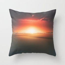 When the day breaks Throw Pillow