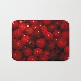 Cranberries Photography Print Bath Mat