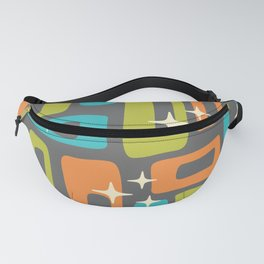 Retro Mid Century Modern Abstract Pattern 634 Fanny Pack