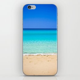 Beach on Crete iPhone Skin