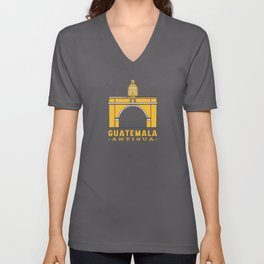 Antigua Guatemala Traditional Guatemalan Unisex V-Neck