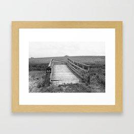 Bridge.  Framed Art Print