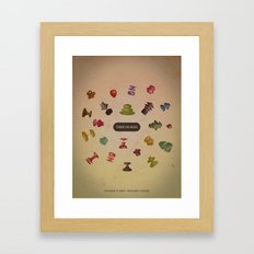 Thee Oh Sees - Mercury Lounge Framed Art Print