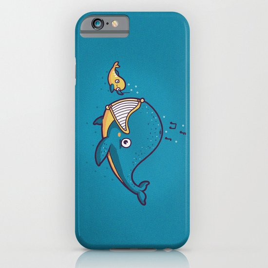 Whale song iPhone & iPod Case
