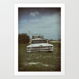 Cadillac Dreams Art Print