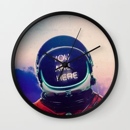 Where You Are Wall Clock