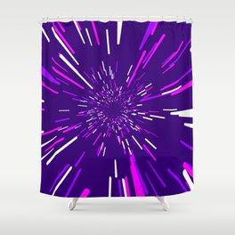 Space Trip 2 Shower Curtain