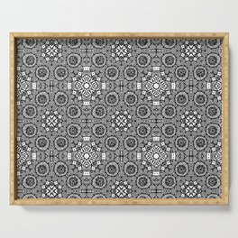 Doodle Pattern 11 Serving Tray
