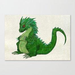 Fat Dragon Canvas Print