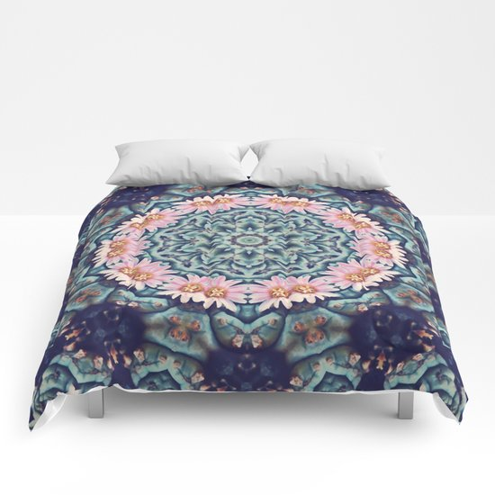 Shaping Realities (Mandala) Comforters