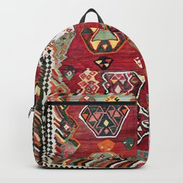 Luri Fars Southwest Persian Kilim Print Backpack