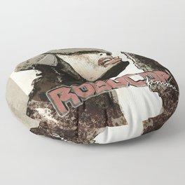 Robocop Girl - Desafío52 Floor Pillow