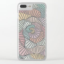 Soft tunes Clear iPhone Case