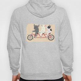 tandem bike Hoody