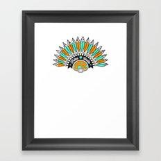Tribe Till I Die Framed Art Print