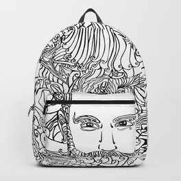 Tattooed with Roses Backpack