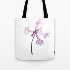 Flowers of the tree *Handroanthus sp* Tote Bag