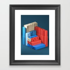 Typographic Insults #4 Framed Art Print