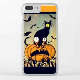 The Zombies are hungry Clear iPhone Case