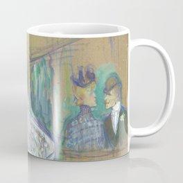 "Henri de Toulouse-Lautrec ""Jane Avril Dancing"" Coffee Mug"