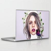 jasmine Laptop & iPad Skins featuring Jasmine by Ellen Macintyre