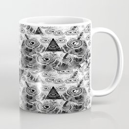 Triangulum Nigrum ad Mortem Coffee Mug