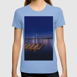 Blue Night. Cambridge MA T-shirt